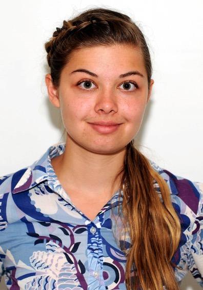 Scholarship contest winner Polina Prokhoda