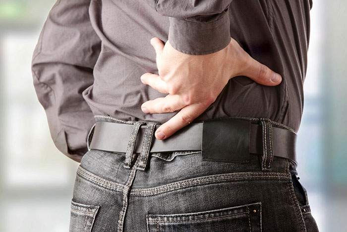 Top causes of back injuries in the workplace
